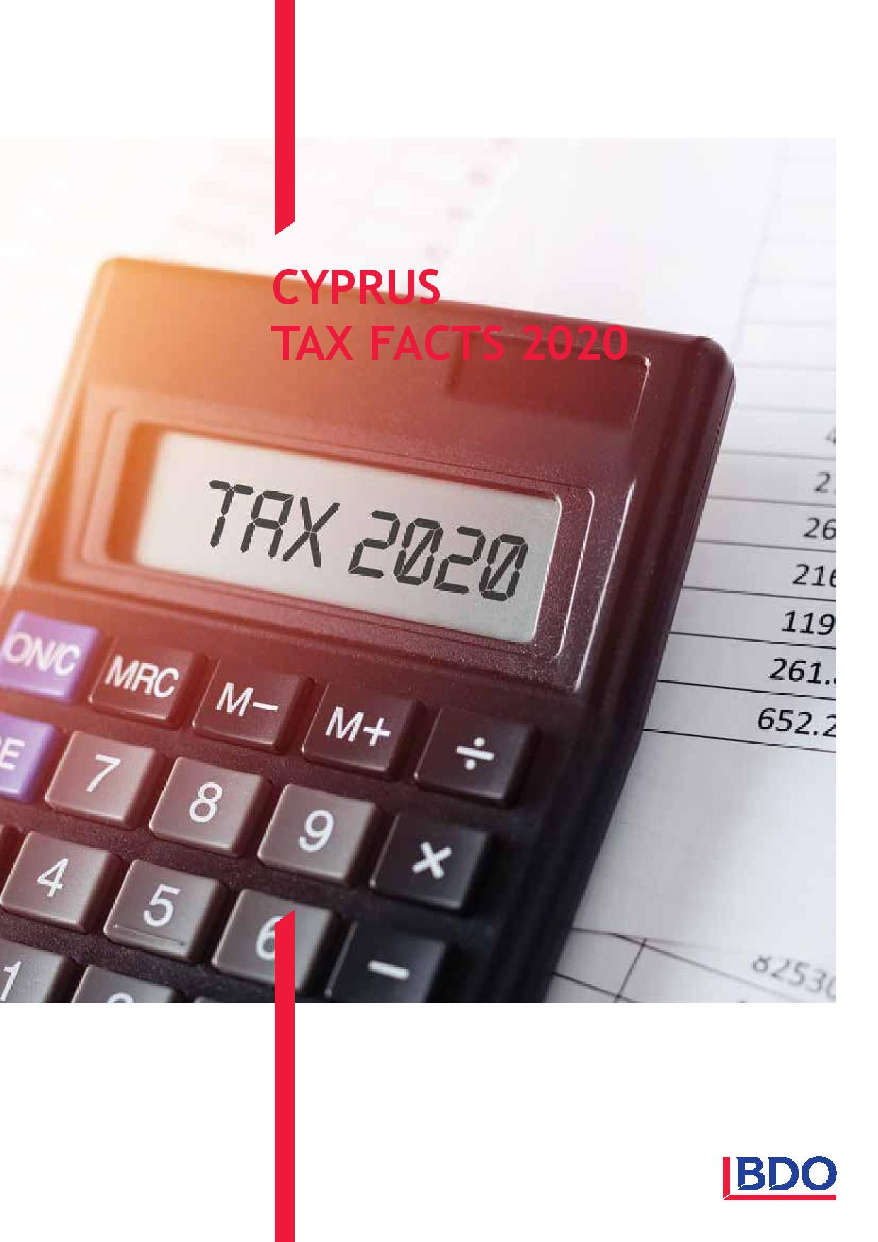 BDO: Cyprus Tax Facts 2020