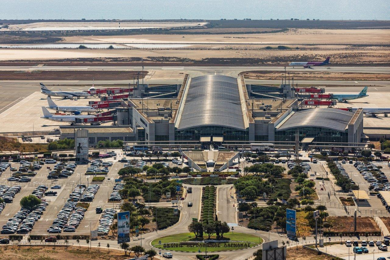 Larnaca Airport among best in Europe