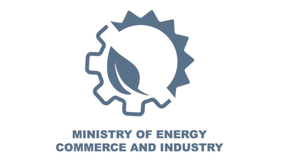 Logo for Ministry of Energy, Commerce, Industry and Tourism