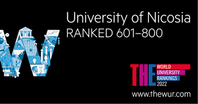 University of Nicosia advances to top 601-800 in the world