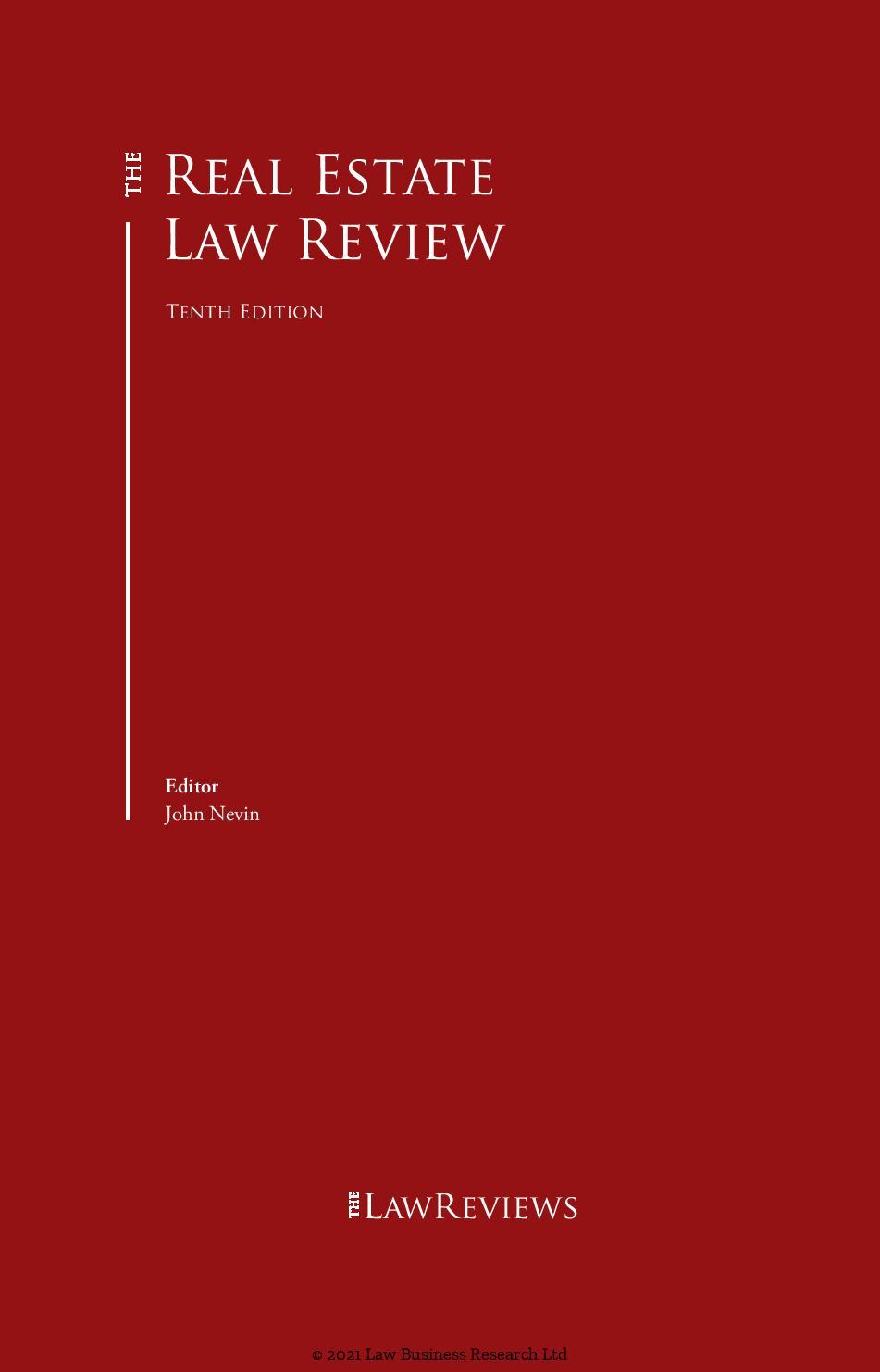 Patrikios Pavlou & Associates LLC: The Real Estate Law Review