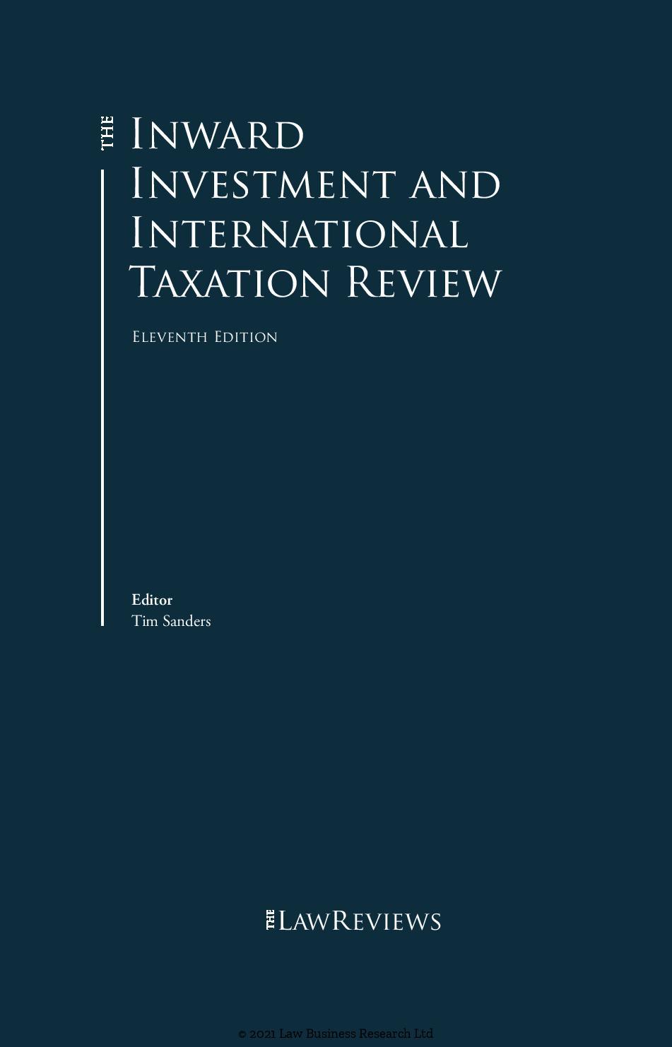 Patrikios Pavlou & Associates LLC: The Inward Investment and International Taxation Review