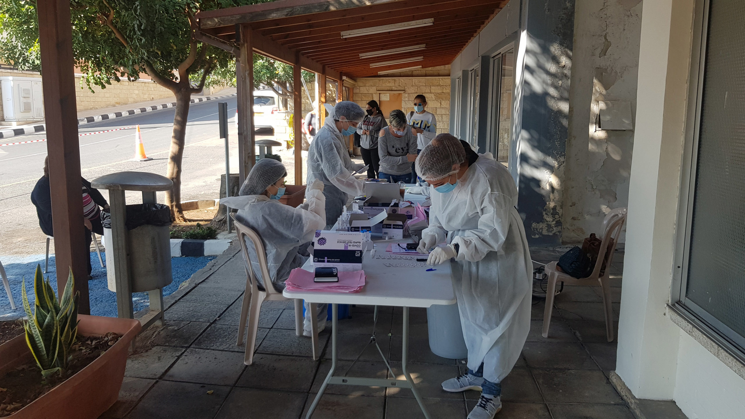 Expanded rapid tests focus on Nicosia
