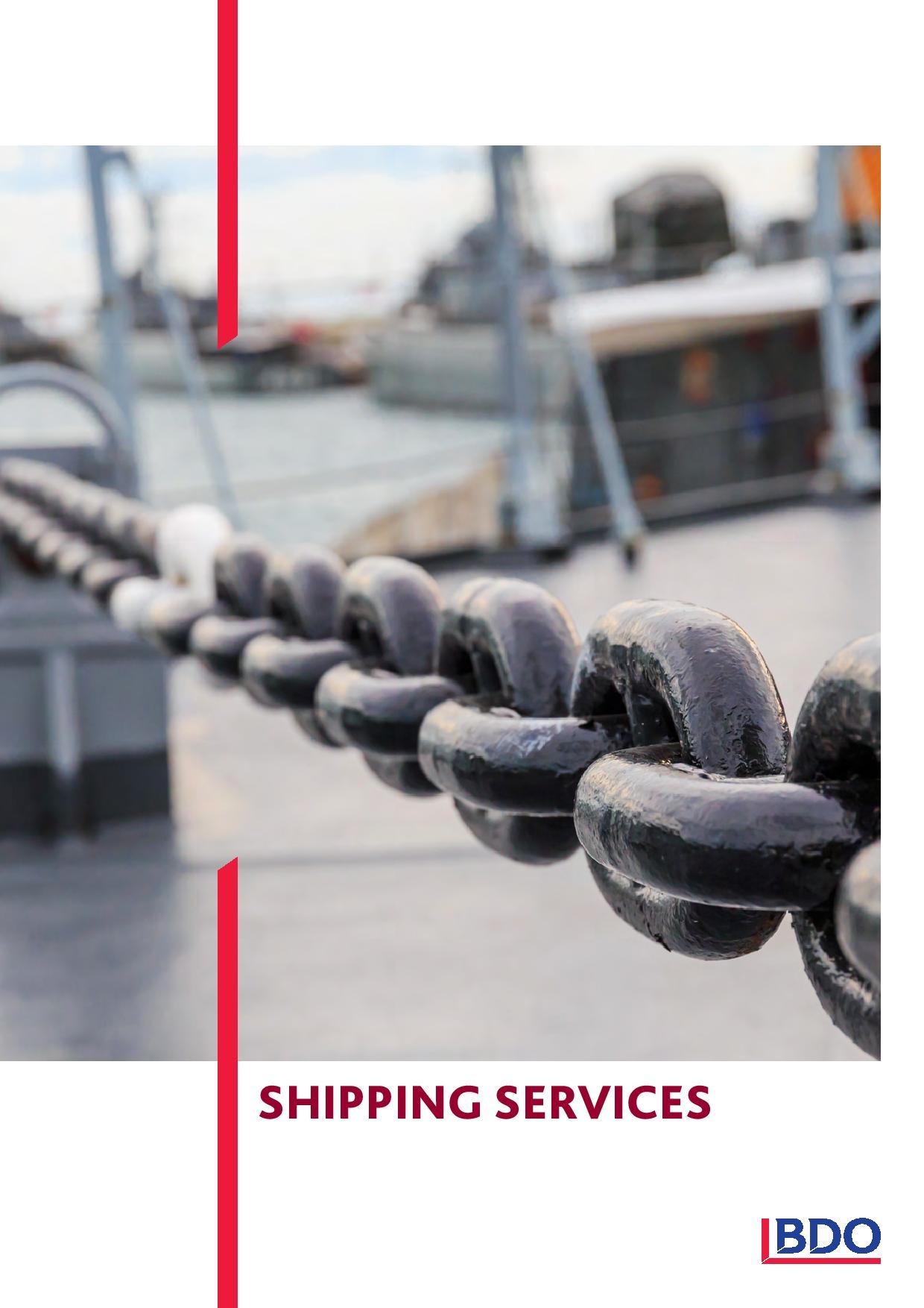 BDO: Shipping Services