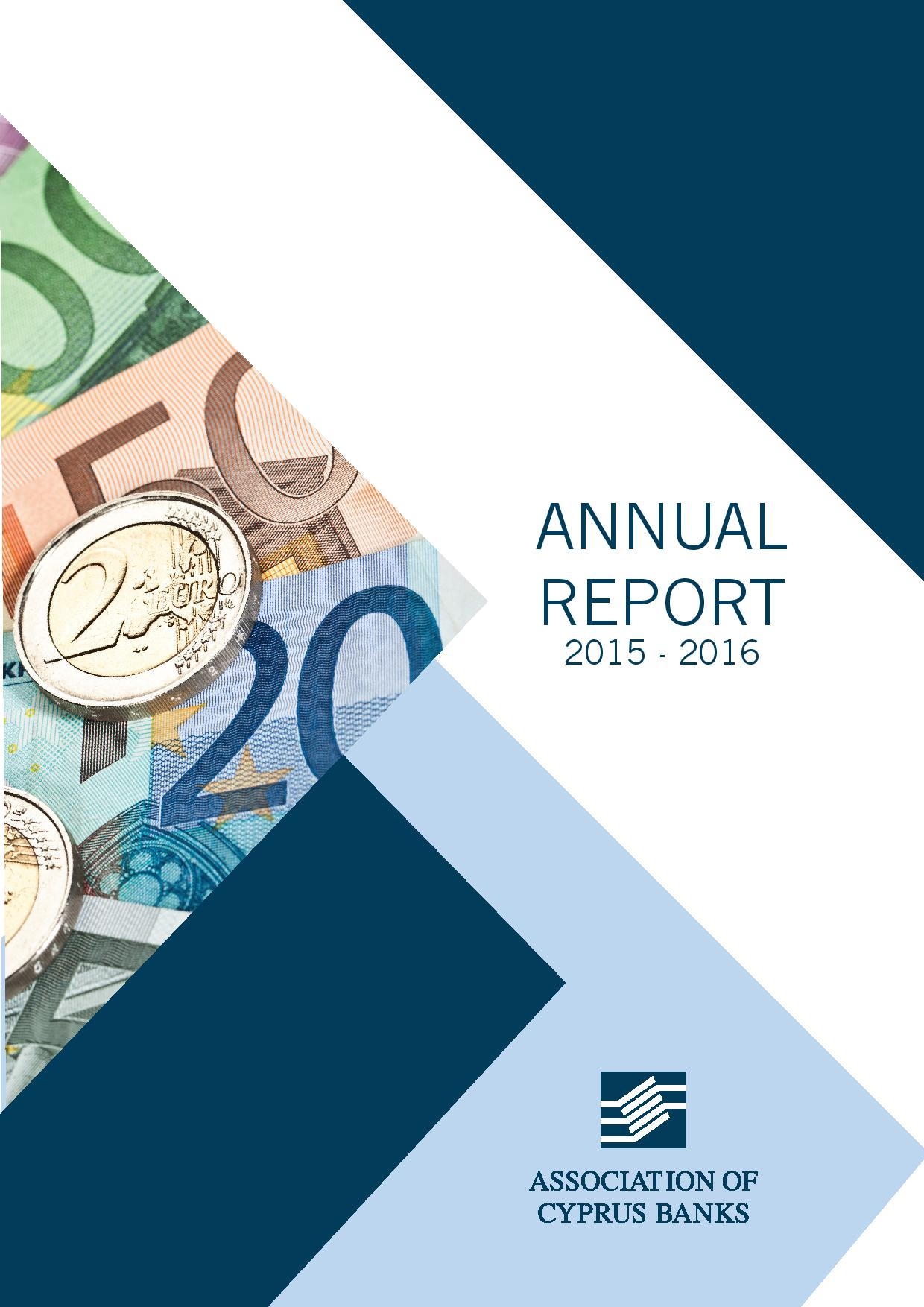 Association of Cyprus Banks Annual Report 2015/2016
