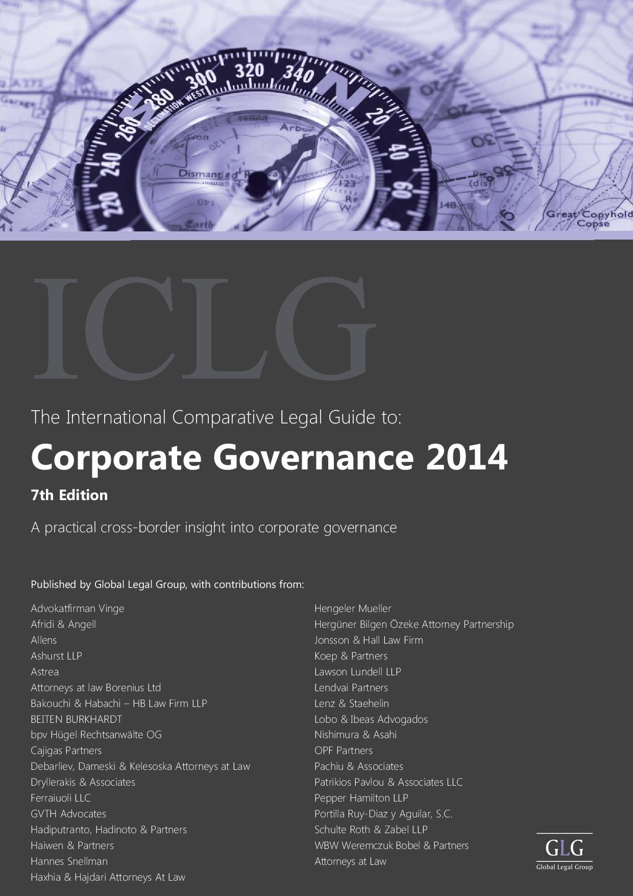 Corporate Governance – Cyprus 2014