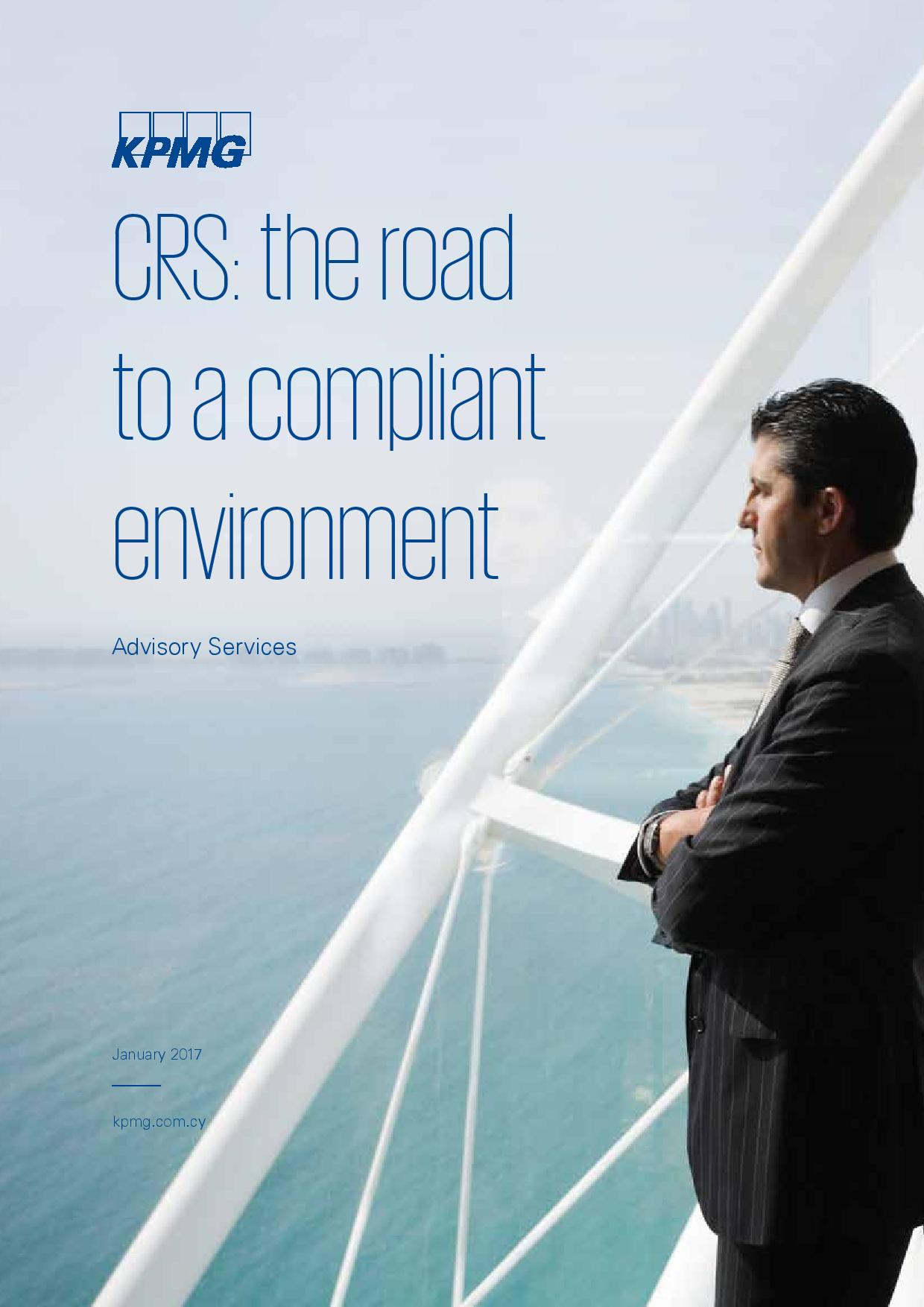 KPMG: CRS The Road to a Compliant Environment
