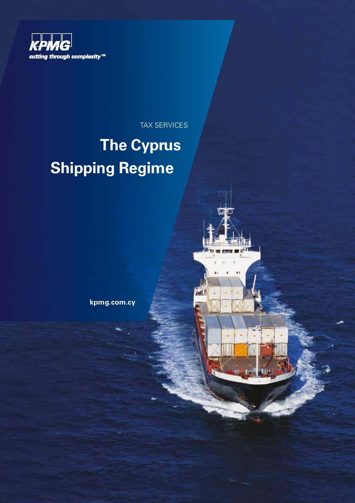 Cyprus Shipping Regime