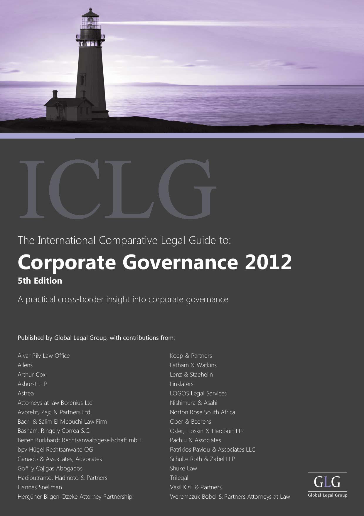 Corporate Governance – Cyprus 2012