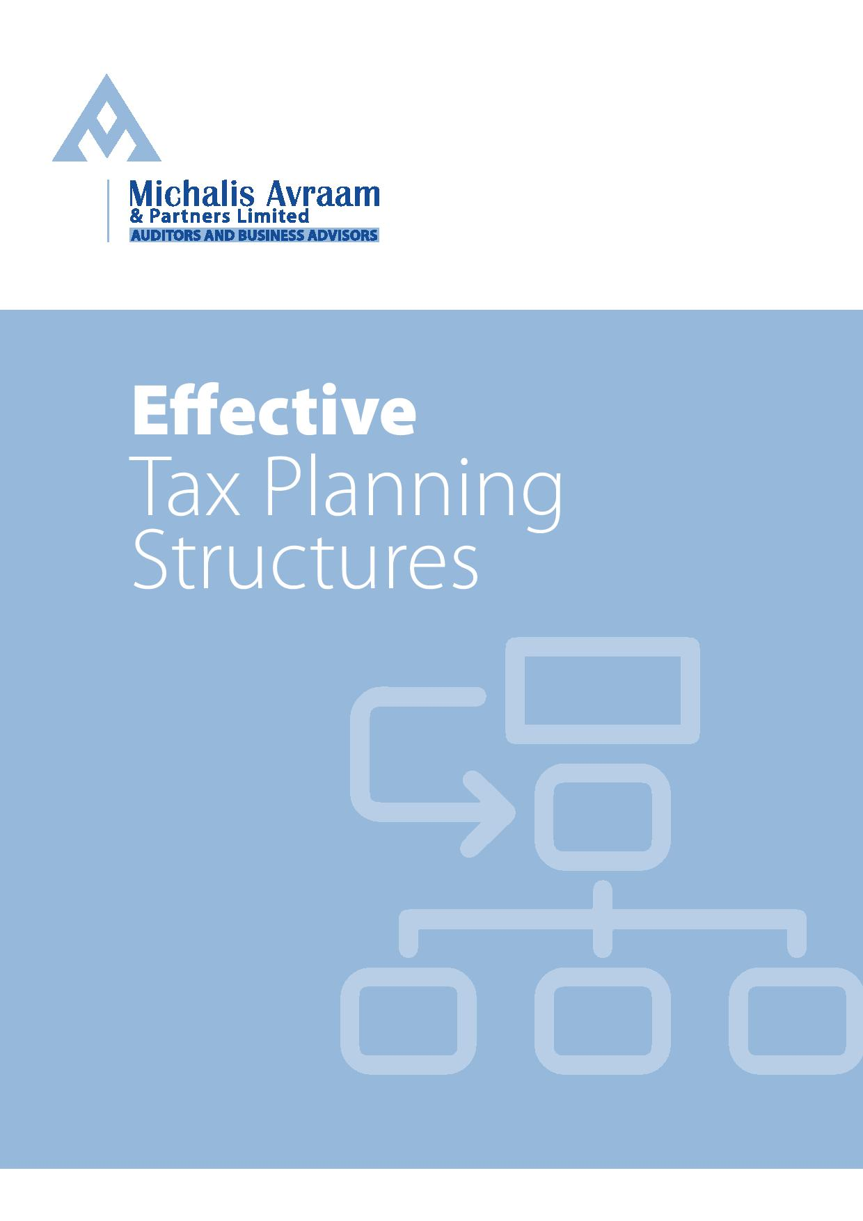 Cyprus Effective Tax Planning Structures
