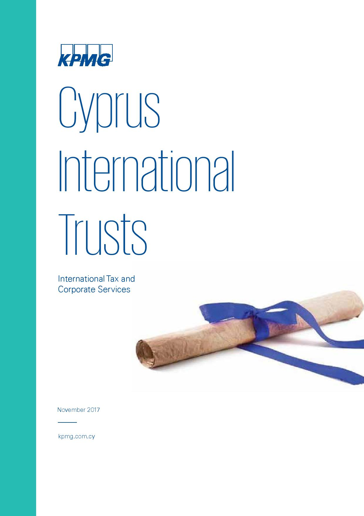 KPMG: Cyprus International Trusts