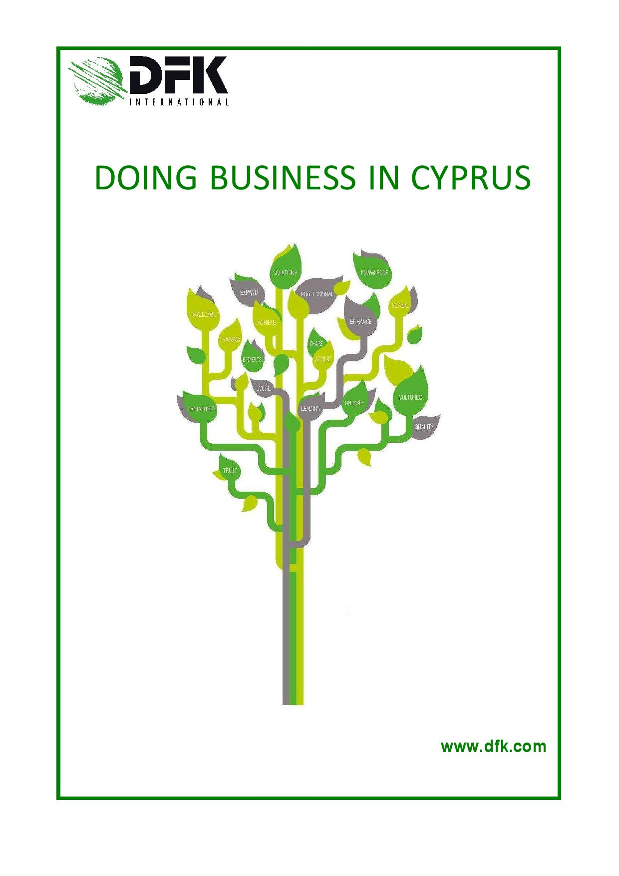 Doing Business in Cyprus 2014