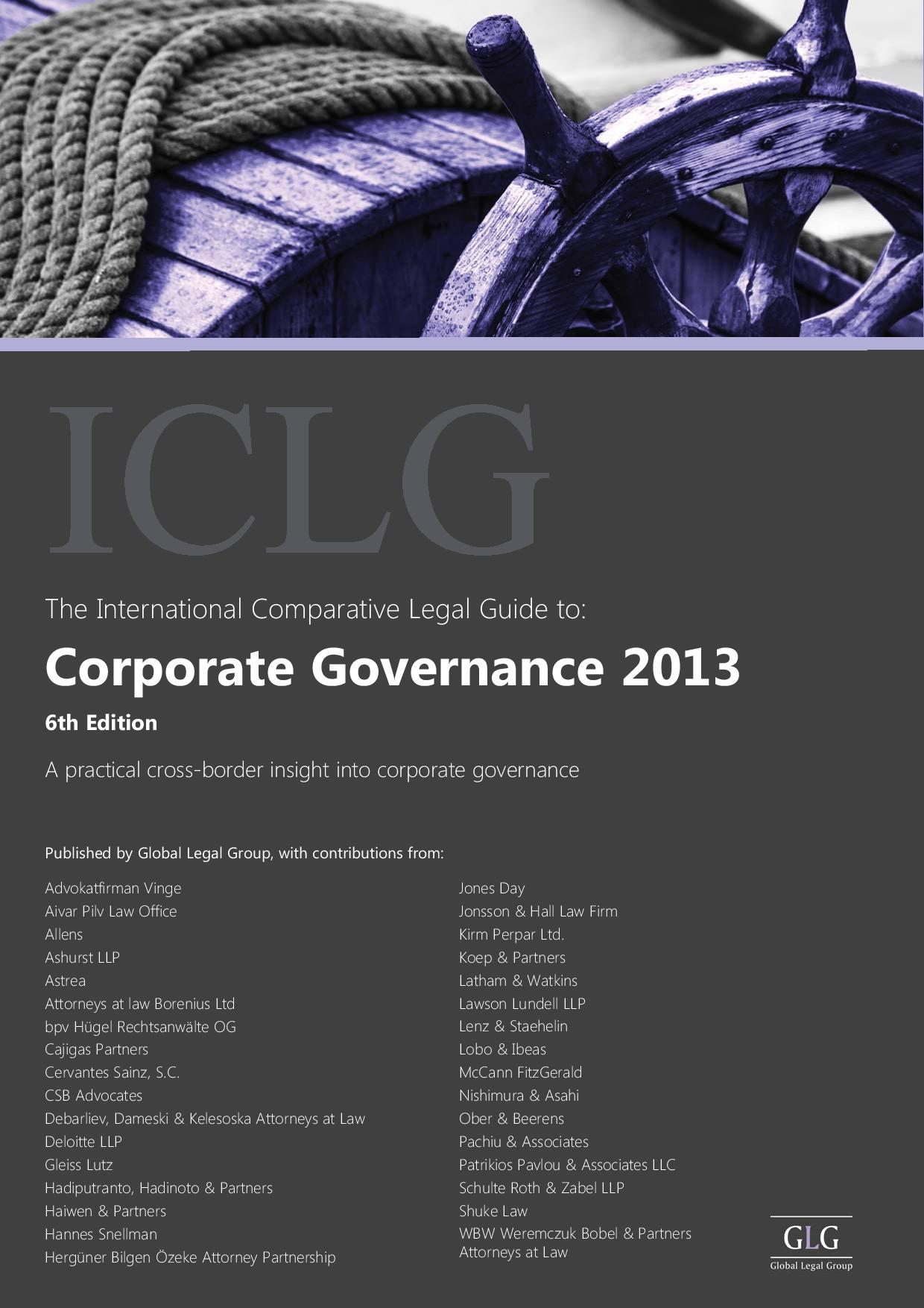 Corporate Governance – Cyprus Chapter 2013