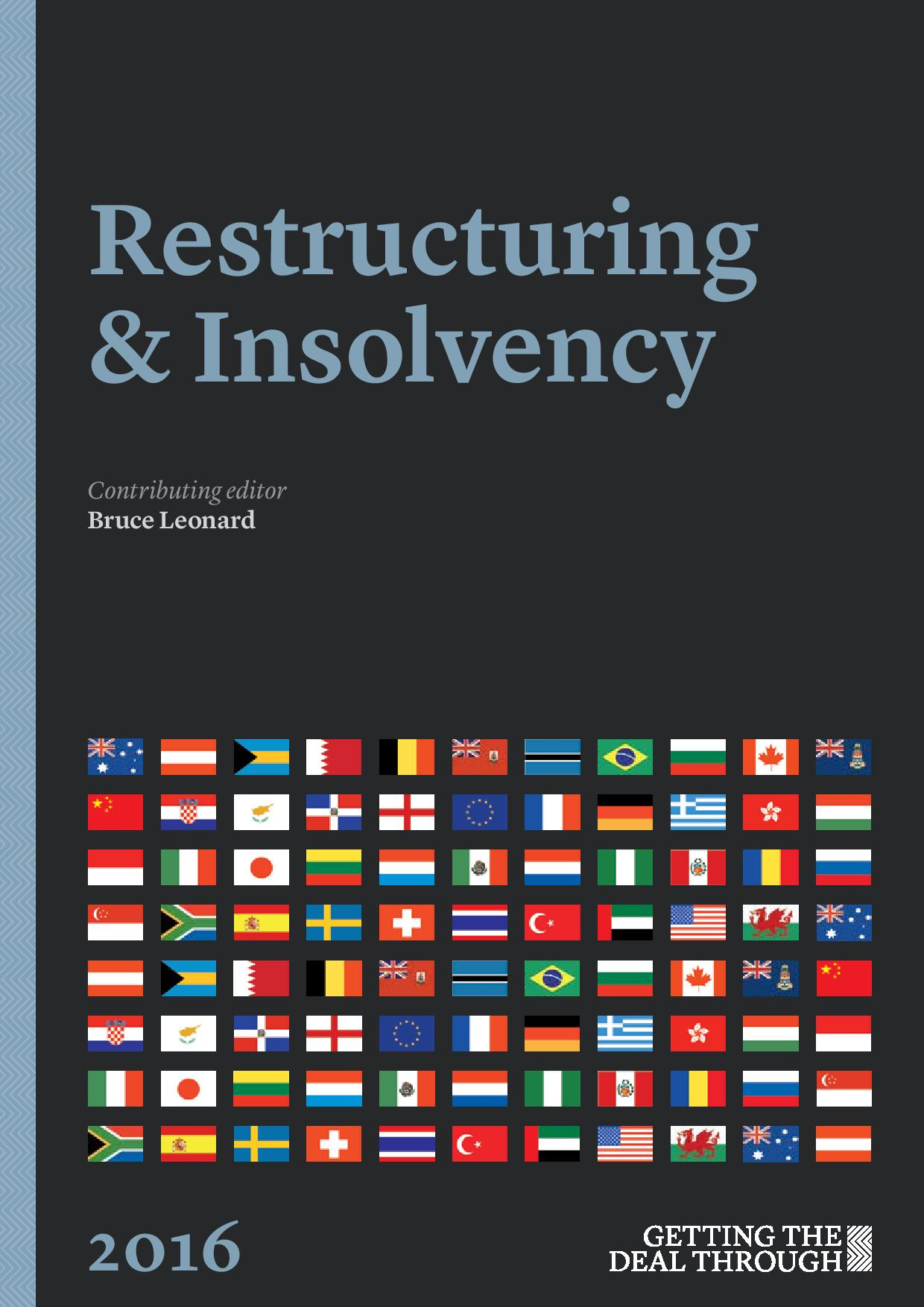 Restructuring & Insolvency 2016