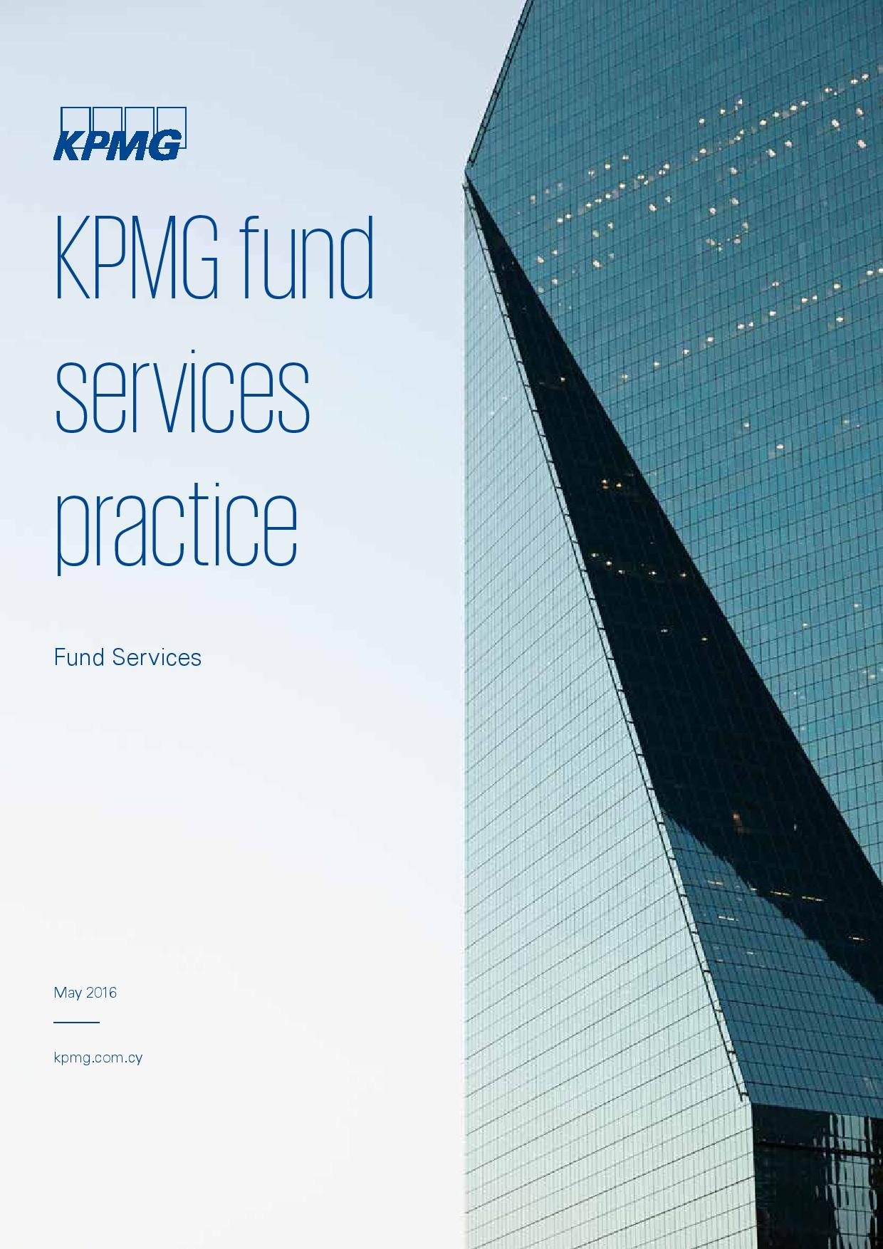 KPMG Fund Services Practice (2016 edition)