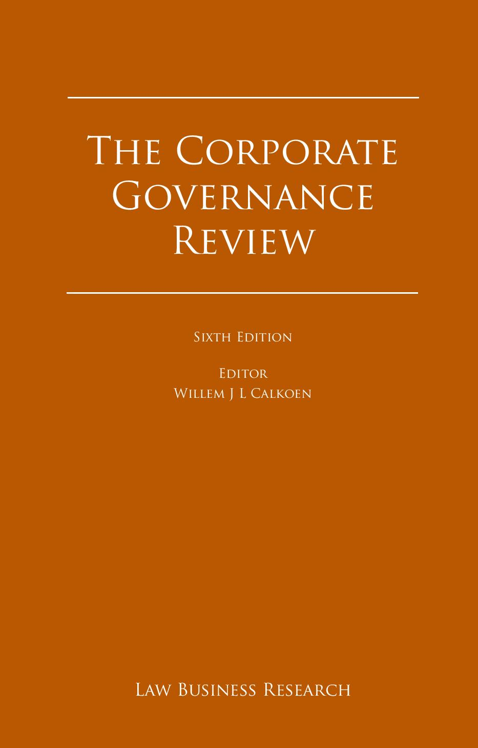 The Corporate Governance Review - Cyprus 2016