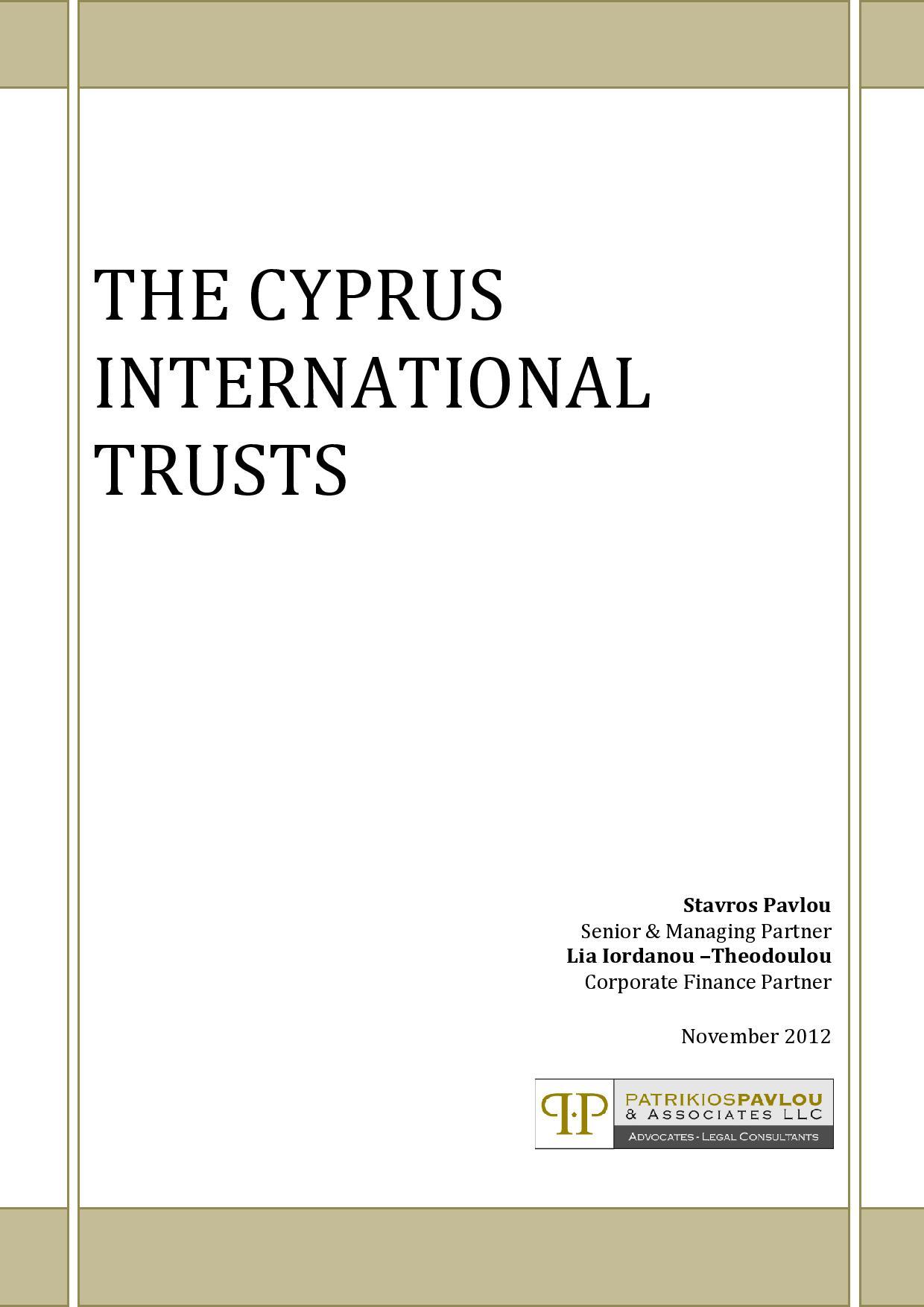 The Cyprus International Trust