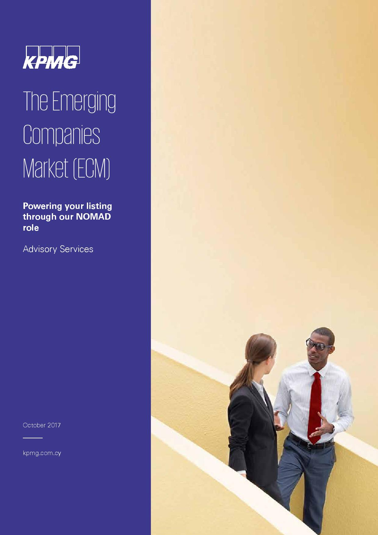 KPMG: The Emerging Companies Market (ECM)