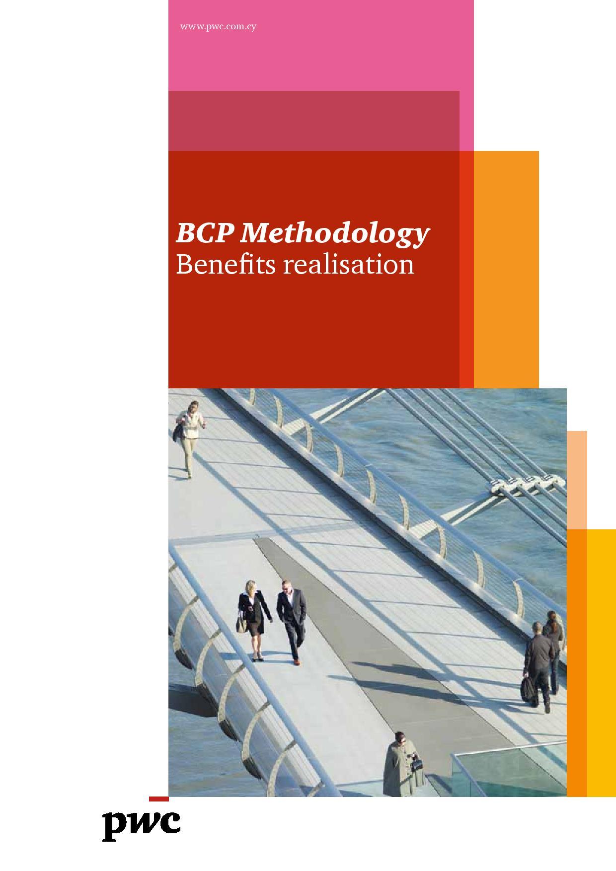 BCP Methodology Benefits realisation - January 2013