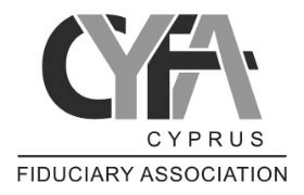 Logo for CFA Cyprus