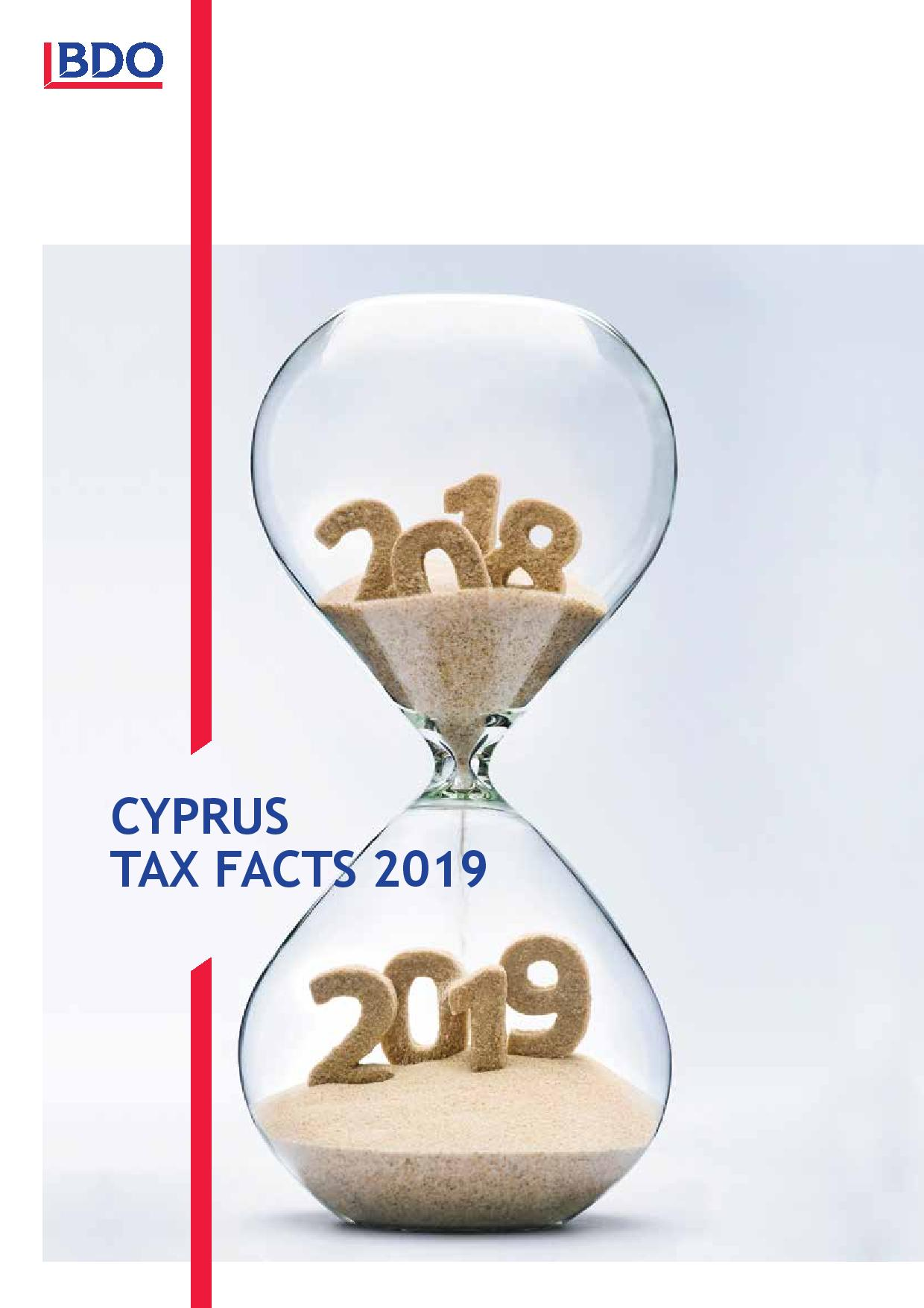BDO: Cyprus Tax Facts 2019