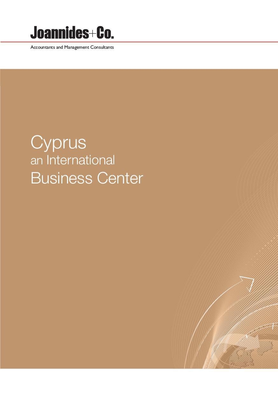 Cyprus: An International Business Center