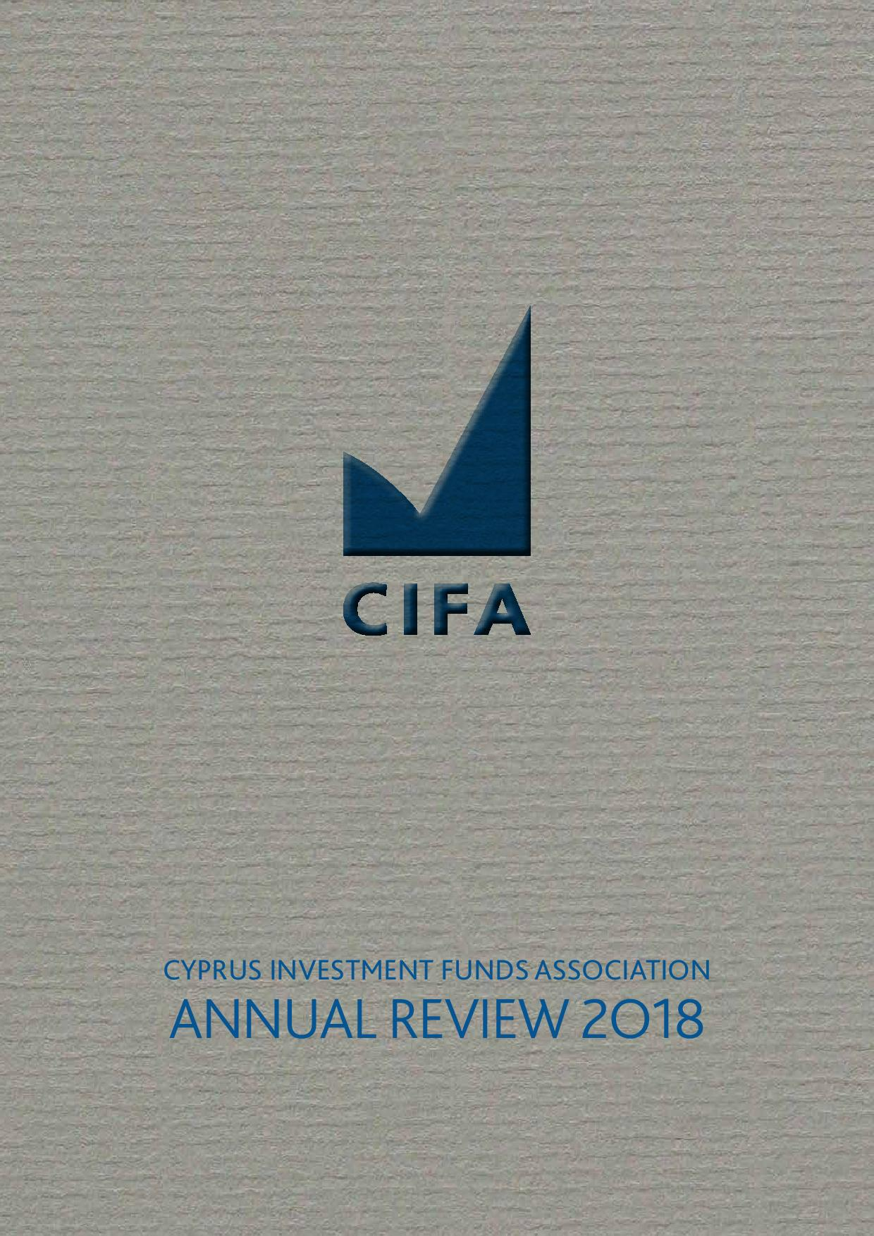 CIFA Annual Review 2018