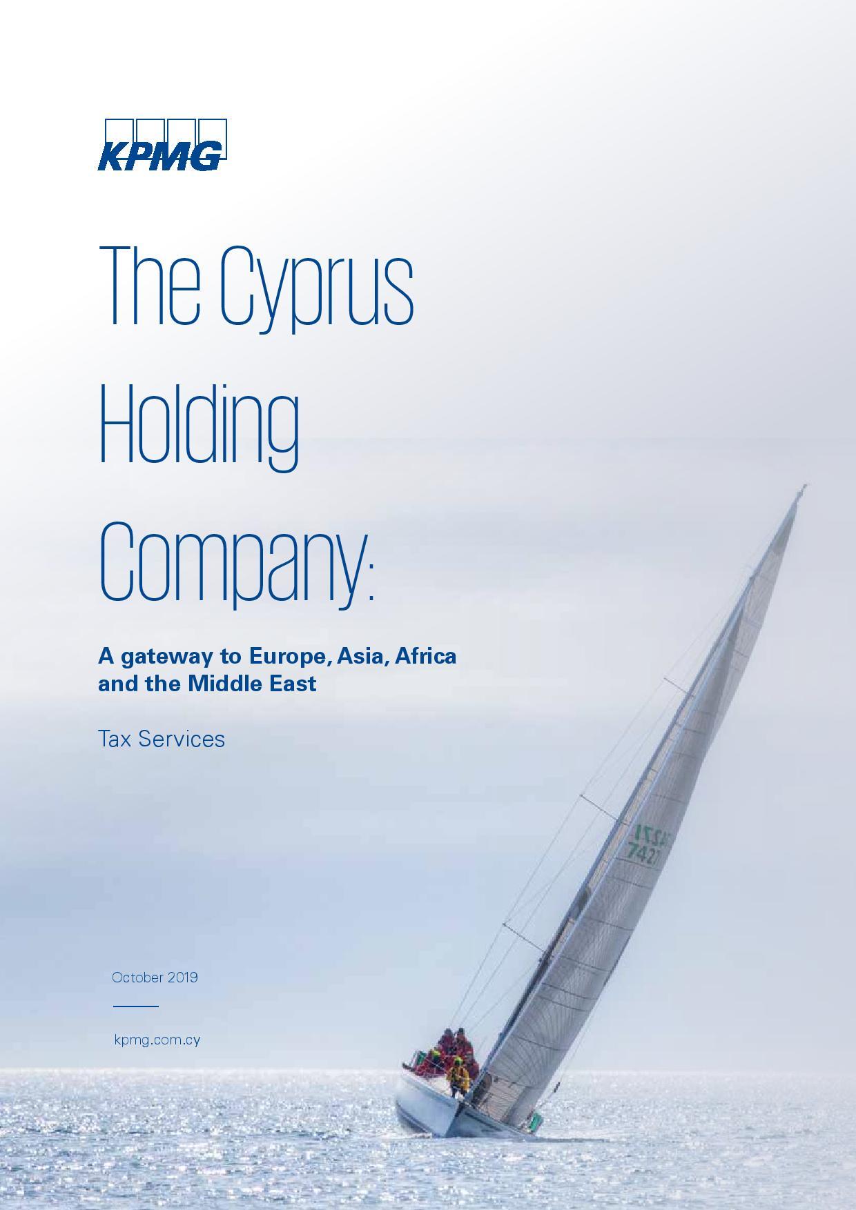 KPMG: Cyprus Holding Company 2019