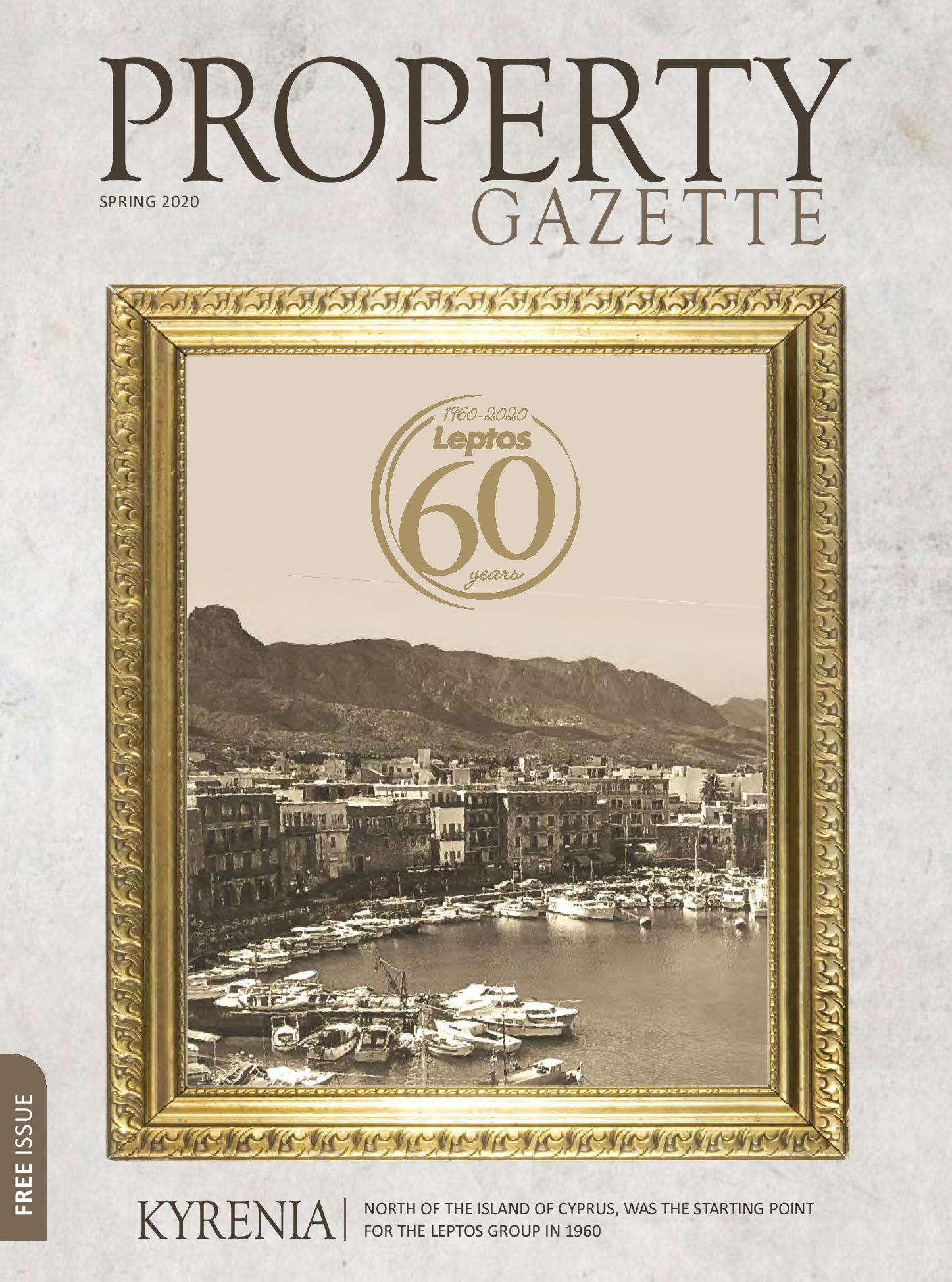 Leptos Estates Property Gazette Spring 2020