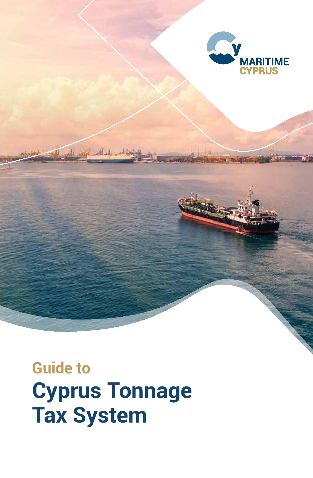 Maritime Cyprus: Guide to Tonnage Tax System