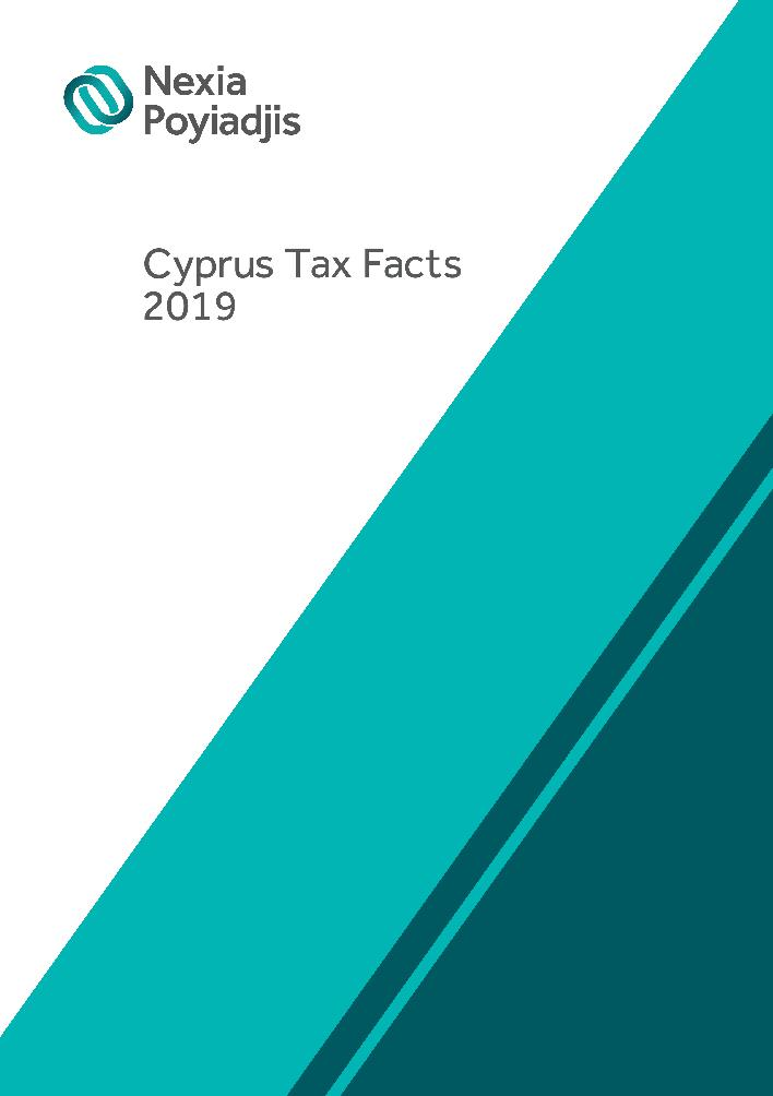 Nexia Poyiadjis: Cyprus Tax Facts 2019