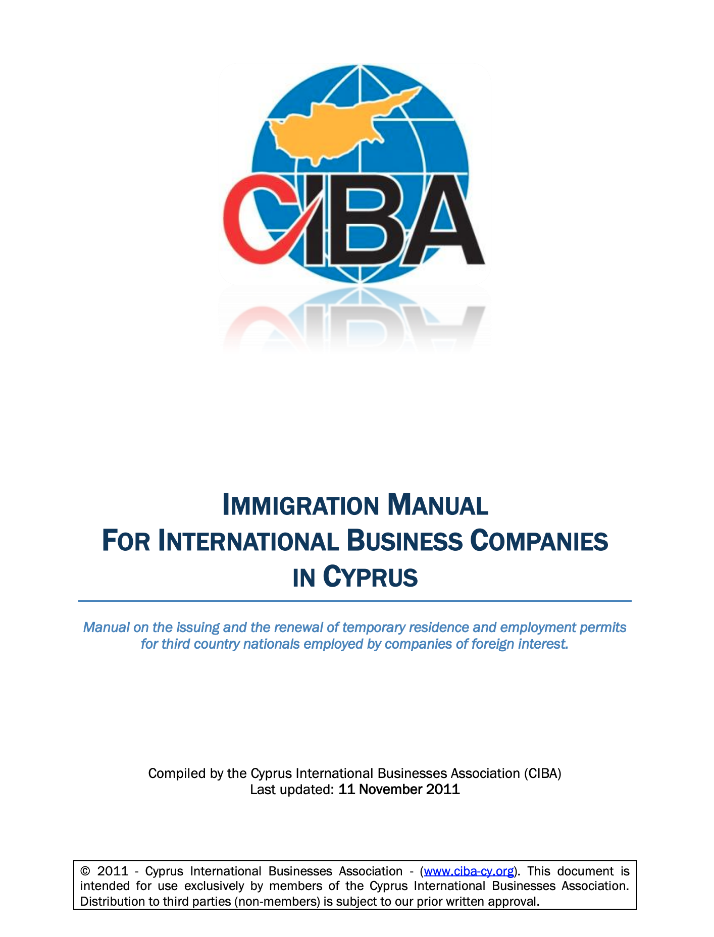 Immigration Manual for International Businesses in Cyprus