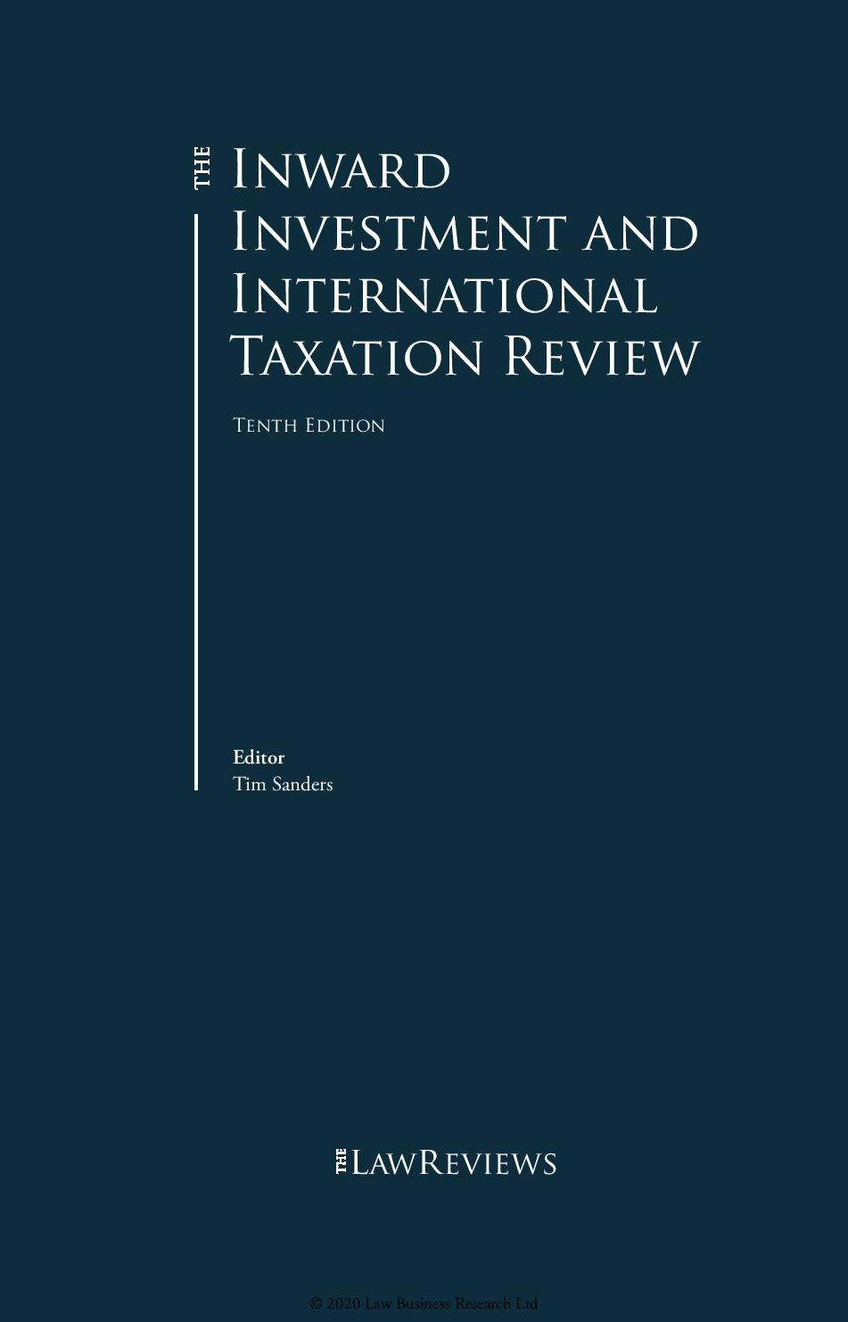 Patrikios Pavlou & Associates: The Inward Investment and International Taxation Review