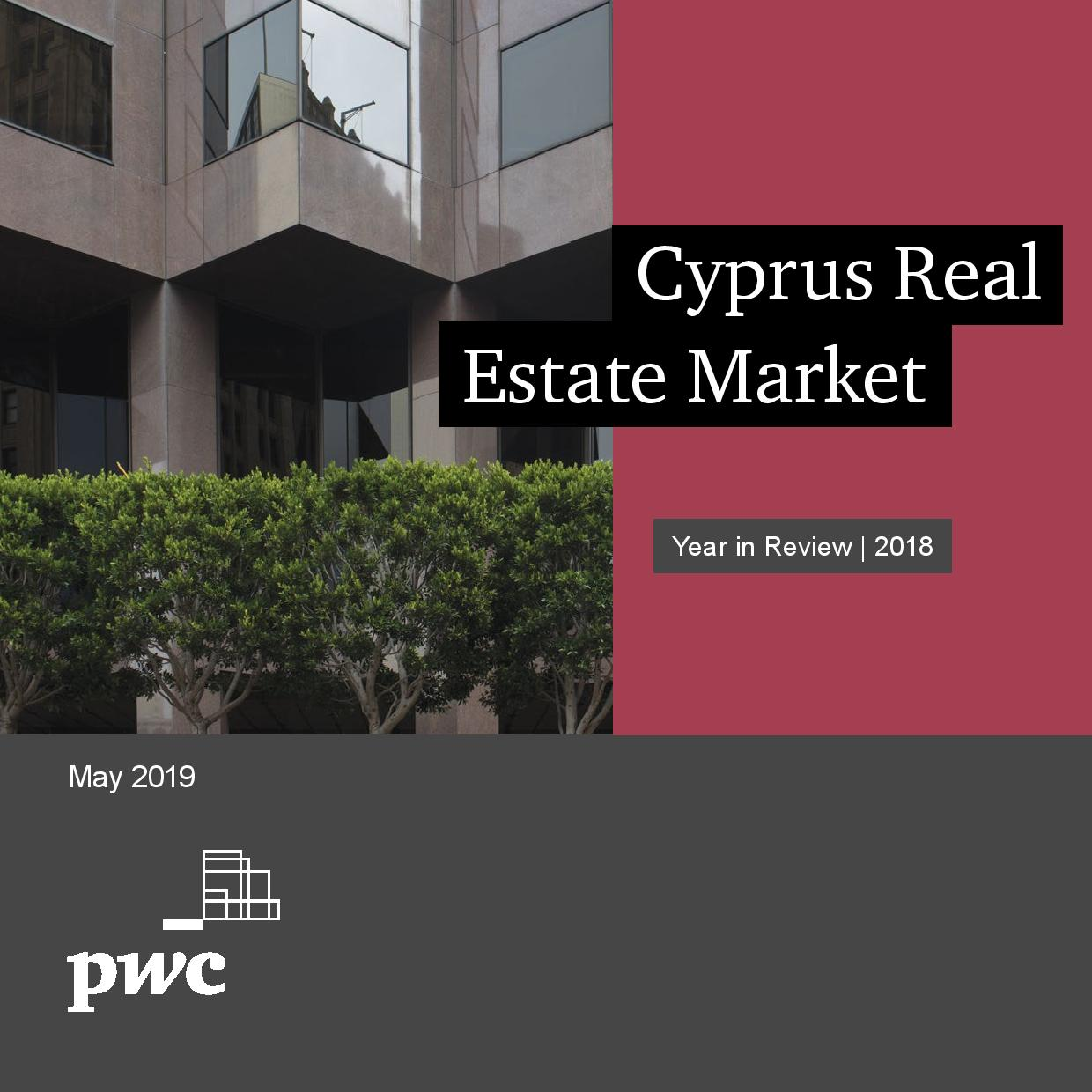 PwC: Cyprus Real Estate Market - Year in Review: 2018