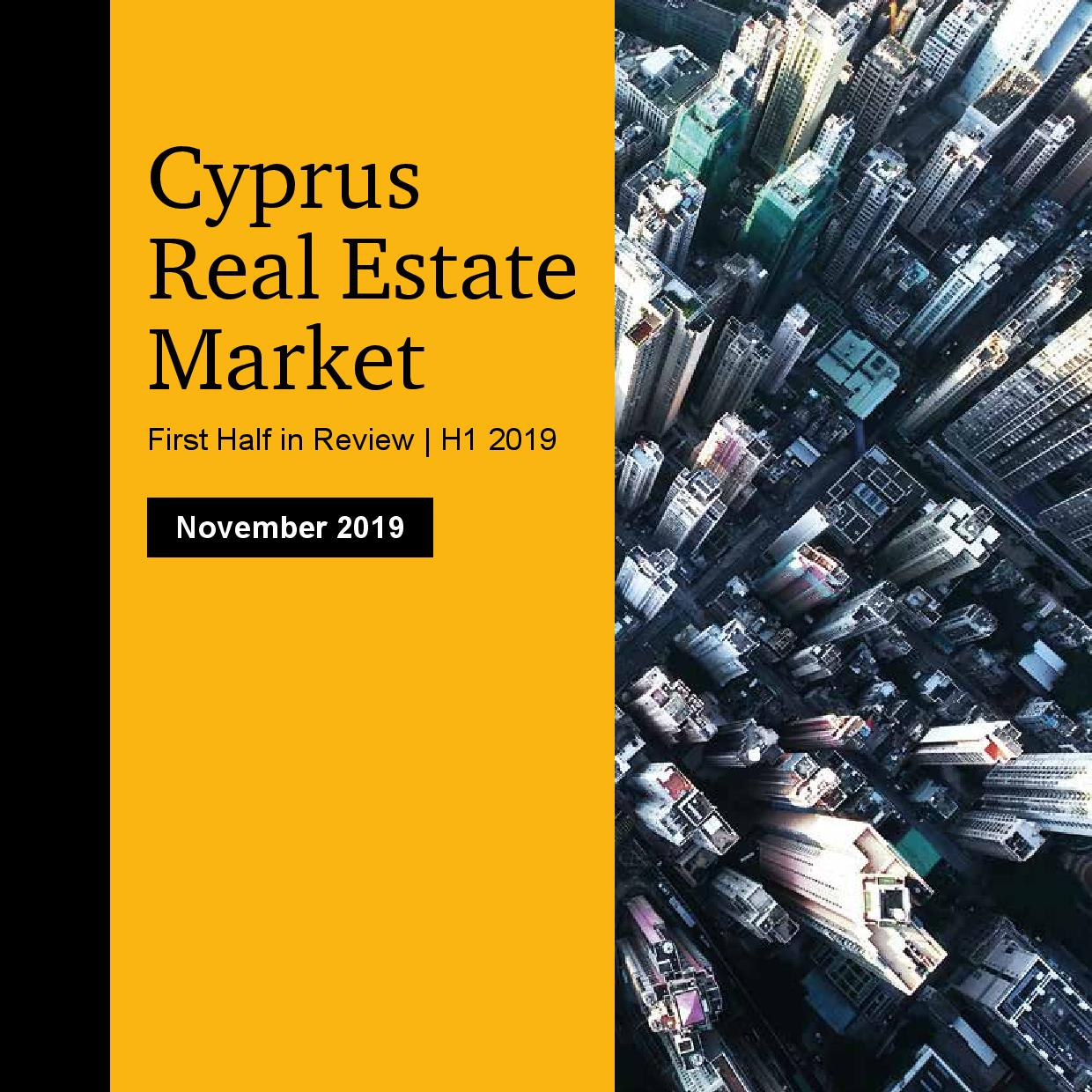 PwC: Cyprus Real Estate Market - First Half in Review 2019