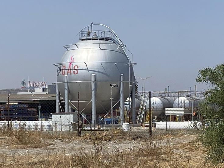 Dismantling of Larnaca LPG facilities to start 'in a few months'