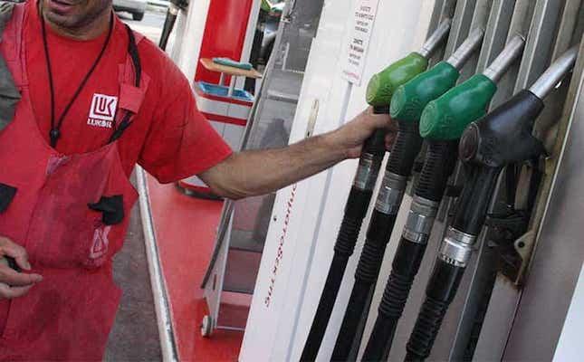 Fuel consumption falls in September