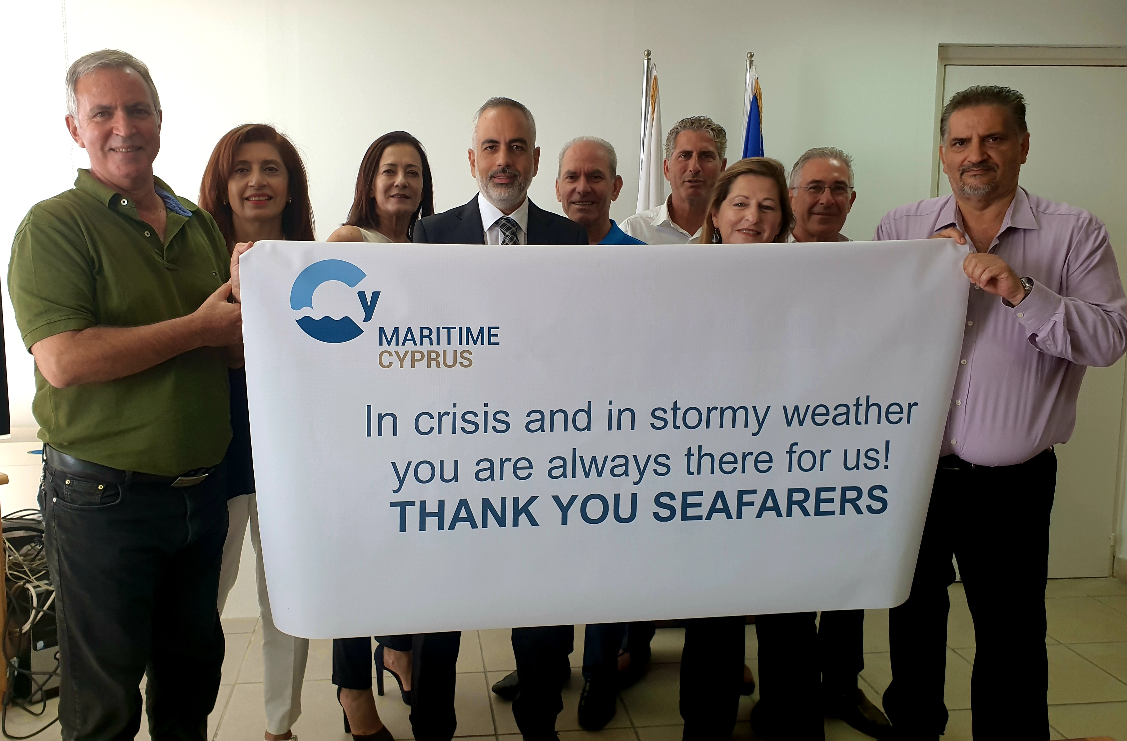 Cyprus SDM supports World Maritime Day with plans for new green incentives & continuing efforts to facilitate crew changes