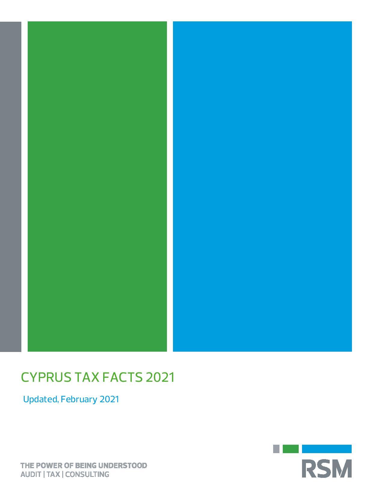 RSM: Cyprus Tax Facts 2021