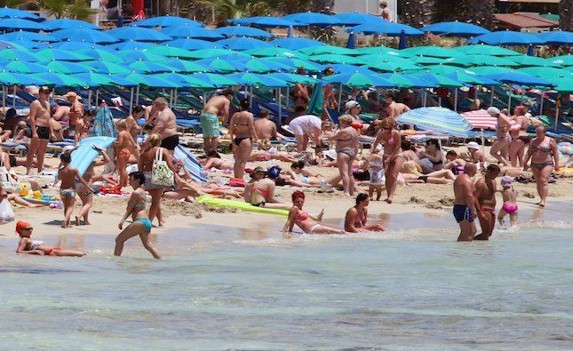 Cyprus tourist arrivals drop 76.9% in October