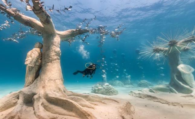 CNN documentary on the underwater sculpture park of Agia Napa