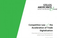 Competition Law the Acceleration of Trade Digitalization