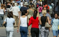 Population rises due to immigration, but birth rate remains very low