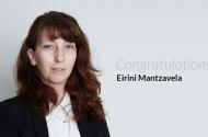 Eirini Mantzavela Completes her HRM Diploma!